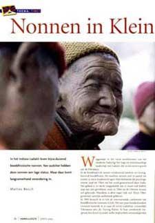 Nonnen in Klein Tibet