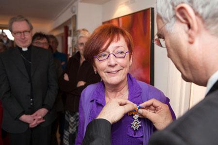 Marlies Bosch, Ridder in de orde van Oranje Nassau